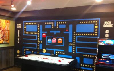 80's Arcade Mural